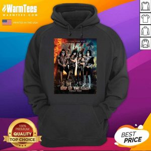 Kiss Band End Of The Road World Tour 2021 Hoodie
