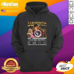 Labyrinth 35th Anniversary Thank You For The Memories Signatures Hoodie