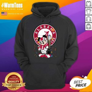 Mickey Mouse Alabama Crimson Tide Hoodie