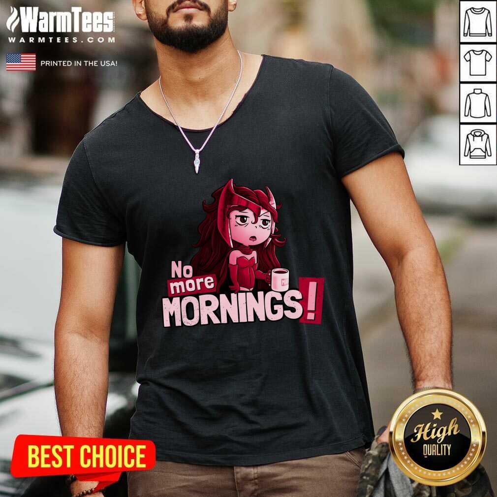No More Mornings Scarlet Witch V-neck