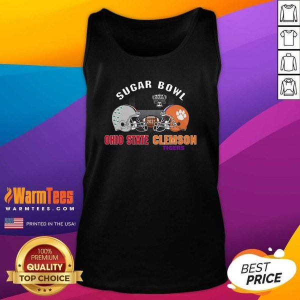 Ohio State Vs Clemson Sugar Bowl 2020 Minimalist Tank Top - Design By Warmtees.com