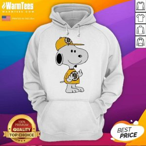 Snoopy Boston Bruins NHL Middle Fingers Fuck You Hoodie