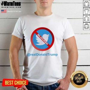 Twitter Donald Trump Account Suspende Shirt