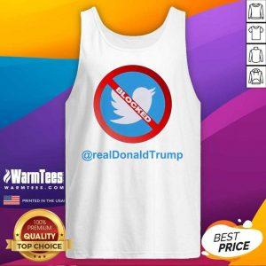 Twitter Donald Trump Account Suspende Tank Top