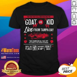 Goat Vs Kid Live From Tampa Bay Shirt