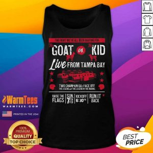 Goat Vs Kid Live From Tampa Bay Tank Top