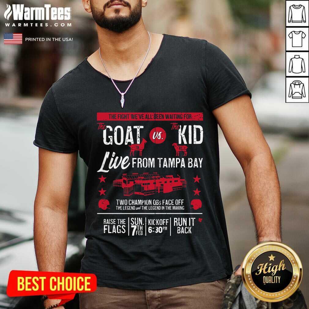 Goat Vs Kid Live From Tampa Bay V-neck