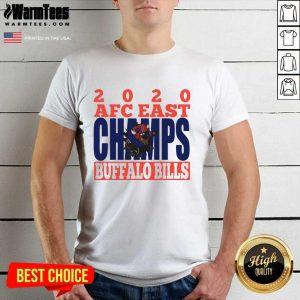 2020 Afc East Champs Buffalo Bills Football Shirt - Design By Warmtees.com