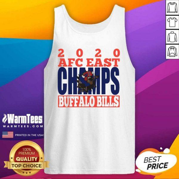 2020 Afc East Champs Buffalo Bills Football Tank Top - Design By Warmtees.com