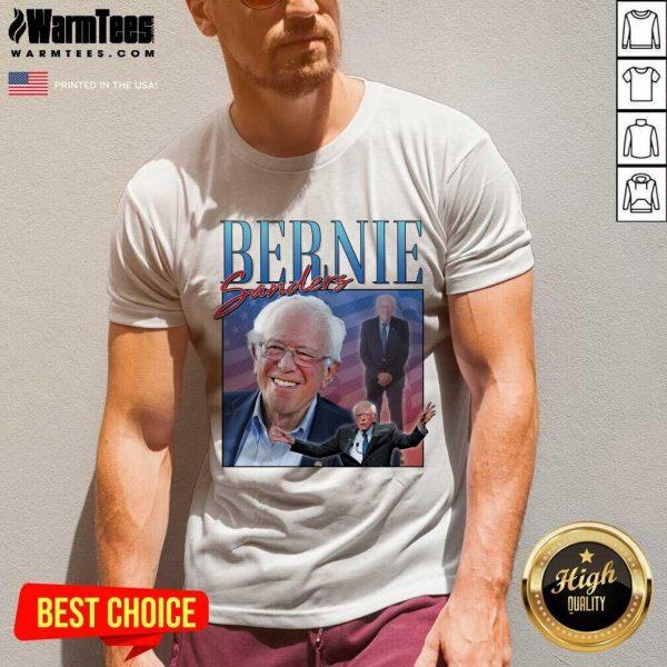 Bernie Sanders Homage V-neck