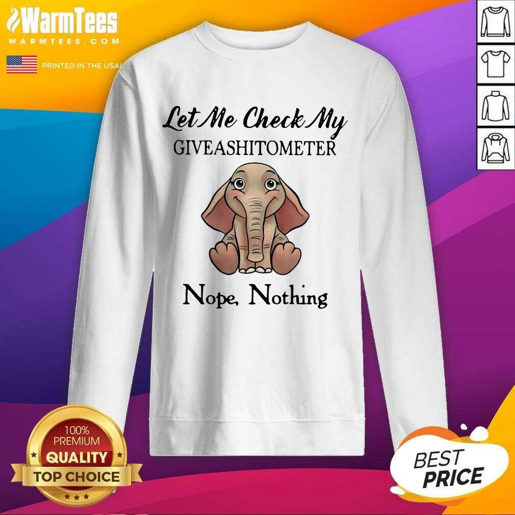 I Like Dogs And Elephants And Maybe 3 People SweatShirt