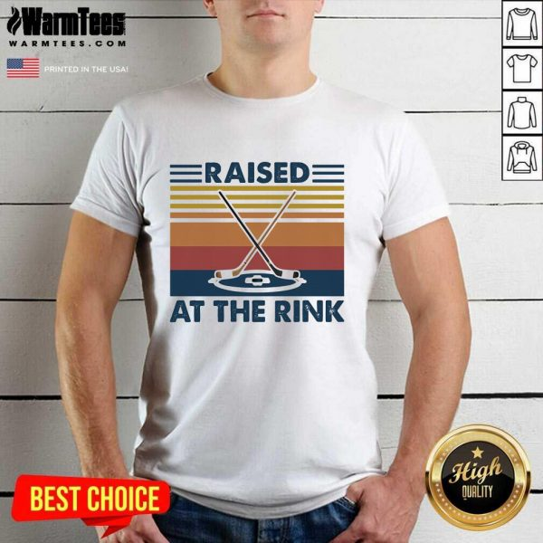 Raised A The Rink Golf Ball Vintage Shirt - Design By Warmtees.com