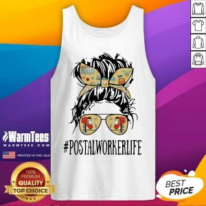 The Girl #Postalworkerlife Tank Top