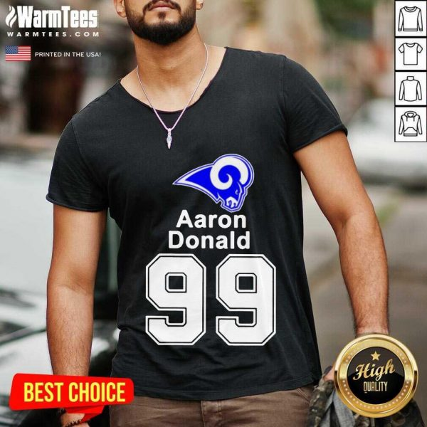 Aaron Donald 99 2021 V-neck