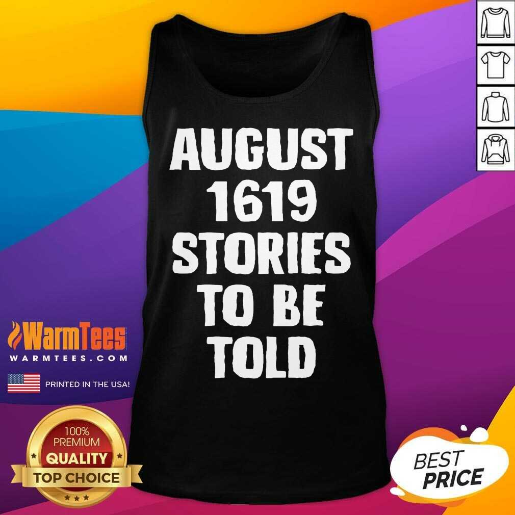 August 1619 Stories To Be Told Classic Tank Top