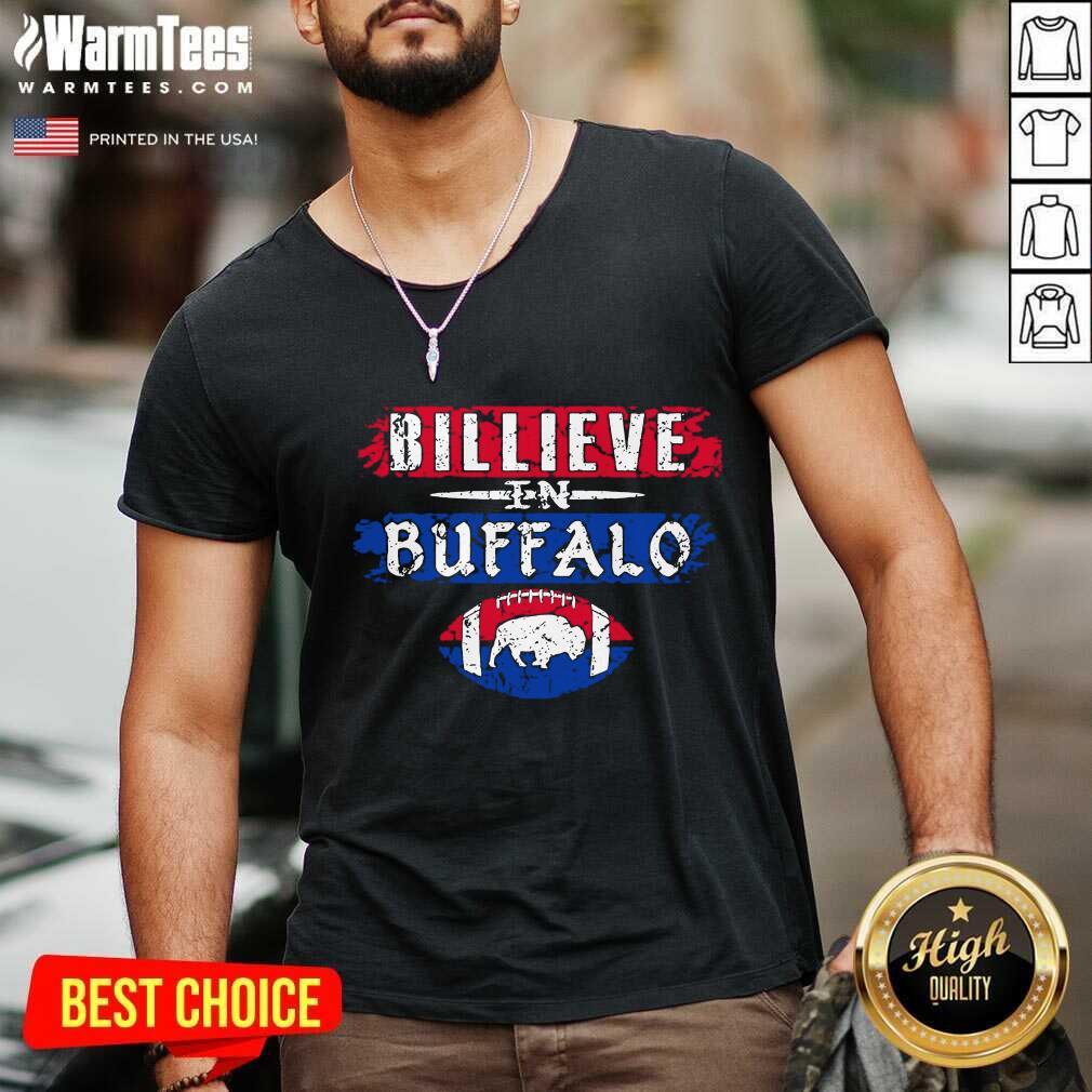Believe In Buffalo Bills Rugby 2021 V-neck