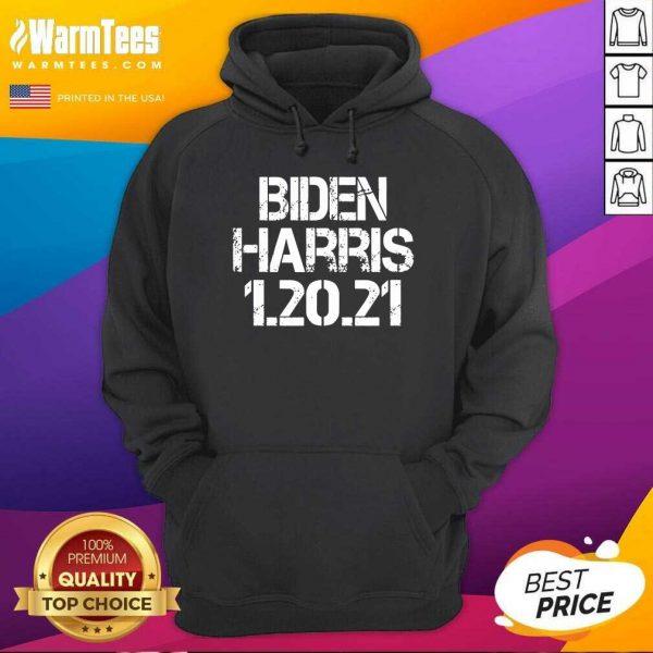 Biden Harris 1.20.21 Inauguration Day 2021 Hoodie - Design By Warmtees.com
