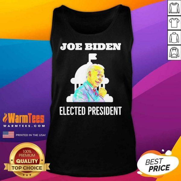 Joe Biden Elected President Inauguration Day In White House Tank Top