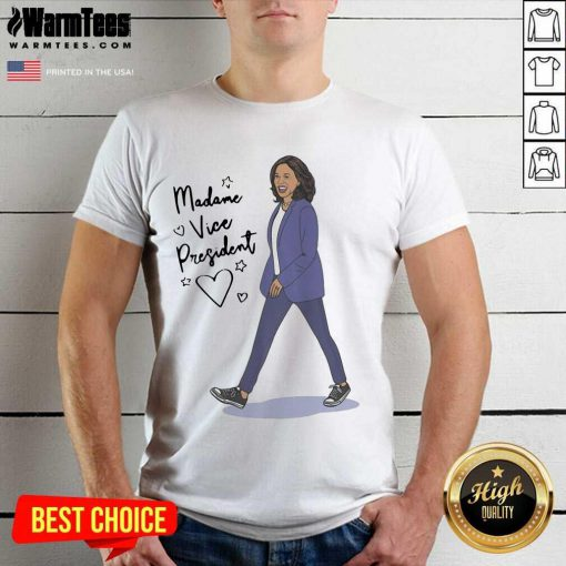 Kamala Harris Madame Vice President Shirt