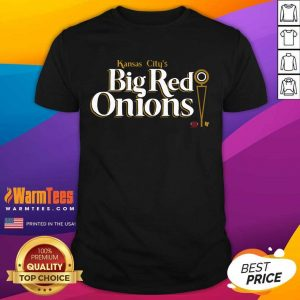 Kansas City's Big Red Onions Shotgun On 3th And Inches Shirt