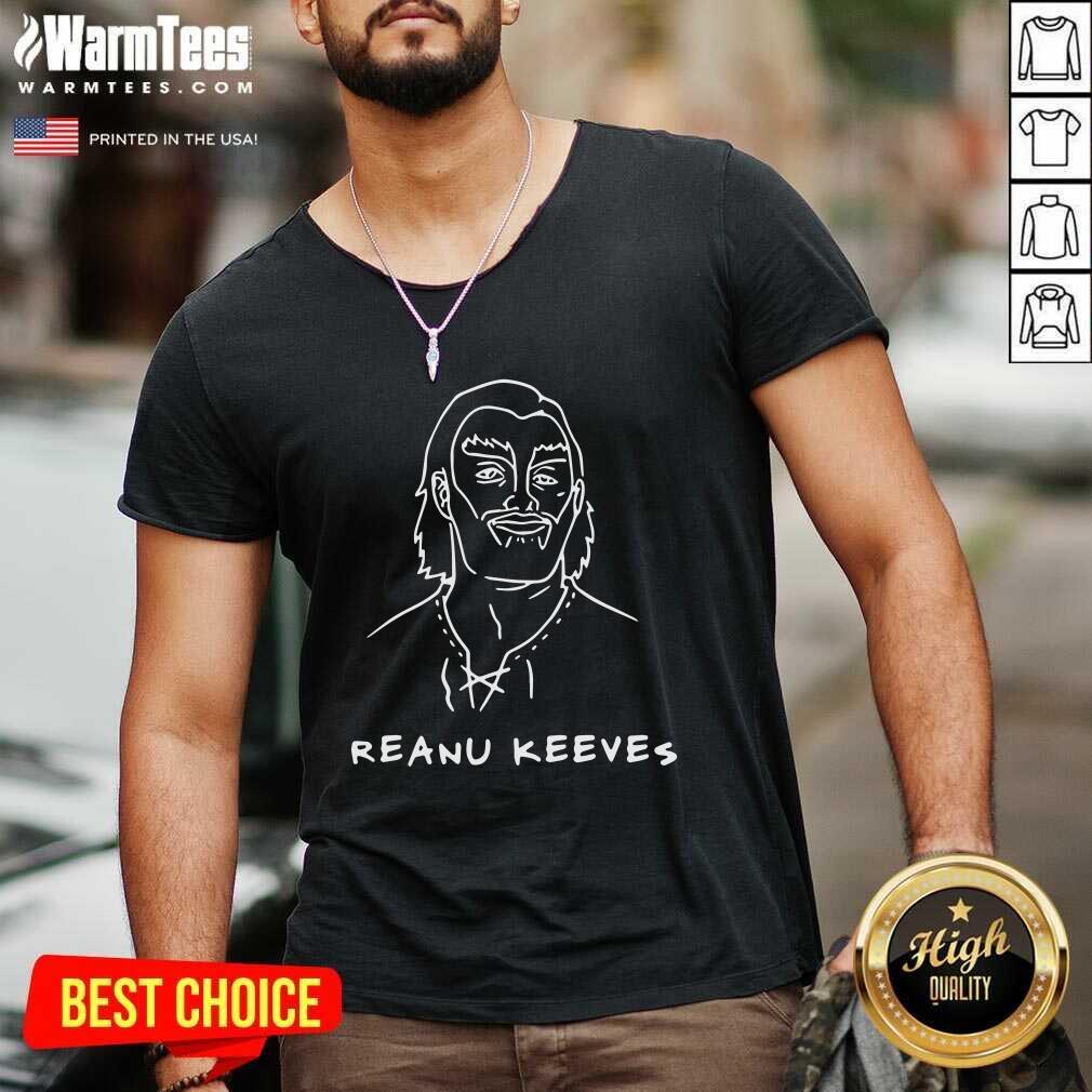 Reanu Keeves V-neck - Design By Warmtees.com
