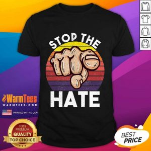 Awesome Stop Asian Hate Hand Vintage Shirt