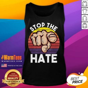 Awesome Stop Asian Hate Hand Vintage Tank Top