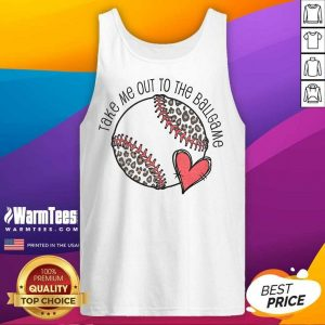 Awesome Take Me Out To The Ball Game Tank Top