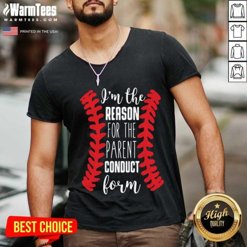 Awesome The Reason Conduct Form 107 V-neck