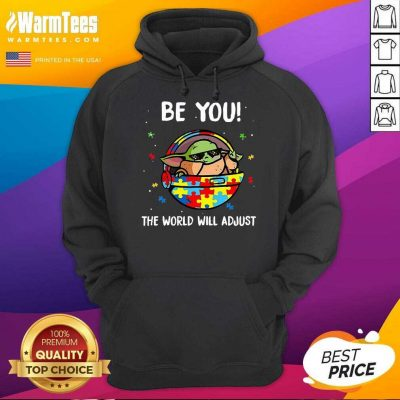 Excellent Baby Yoda Autism You World 5 Hoodie