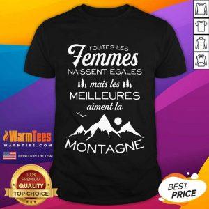 Excellent Femmes Meilleures Montagne Shirt