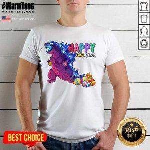 Excellent Godzilla Happy Eastrawr 2021 Shirt