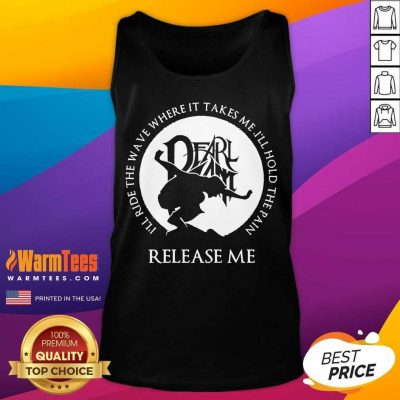 Excellent Pain Release Me Pearl Jam Tank Top