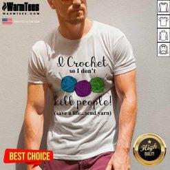 Excellent Wool I Crochet Life Send 2 V-neck