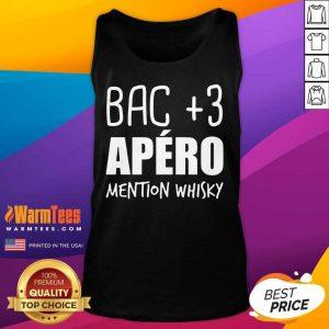 Fantastic Bac 3 Apéro Mention Whisky Tank Top