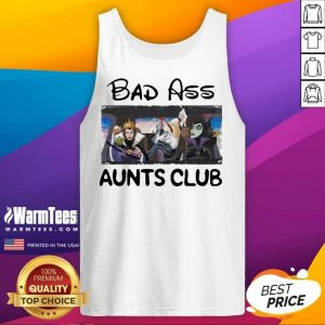 Fantastic Bad Ass Aunts Clubs Disney Tank Top