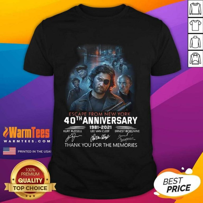Fantastic Escape From New York 1981 Shirt