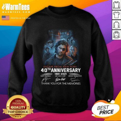 Fantastic Escape From New York 1981 Sweatshirt
