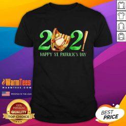 2021 Happy St Patricks Day Baseball Shirt