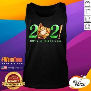2021 Happy St Patricks Day Baseball Tank Top