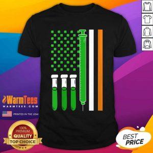 American Flag Shamrock Clover St Patricks Day Mexico Shirt