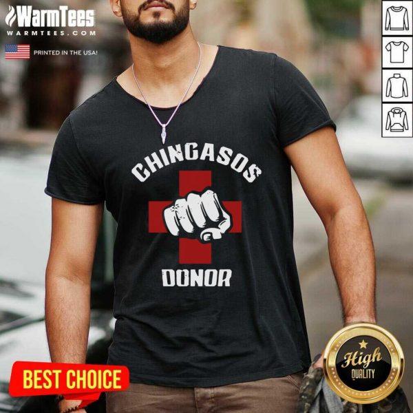 Chingasos Donor V-neck