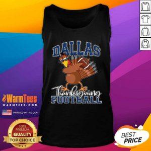 Dallas Thanksgiving Football Fan Tank Top