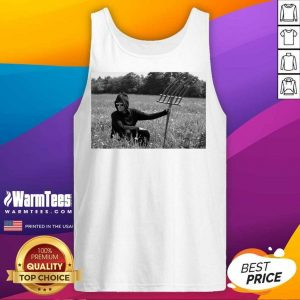 Funny David In A Field Enthusiastic Tank Top
