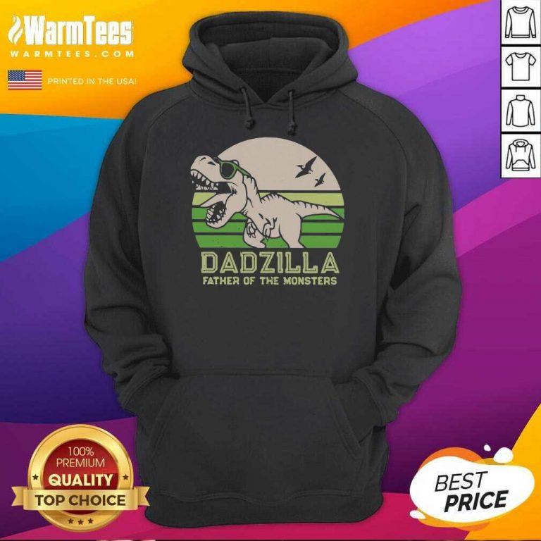 Funny Dinosaurs Dadzilla Father 54 Hoodie