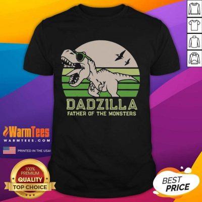 Funny Dinosaurs Dadzilla Father 54 Shirt