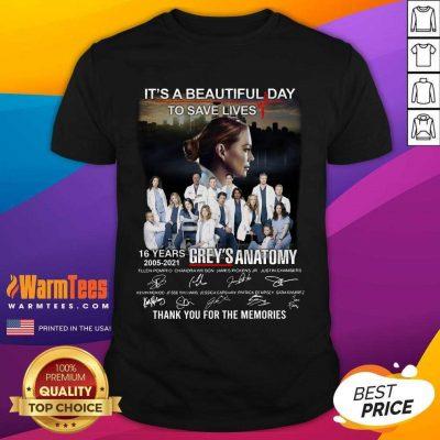 Funny Greys Anatomy Its Beautiful 2021 Shirt