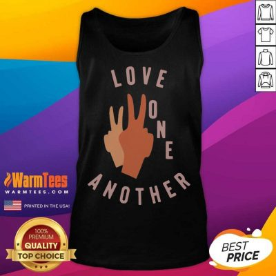 Funny Old Navy Love One Another 2021 Tank Top