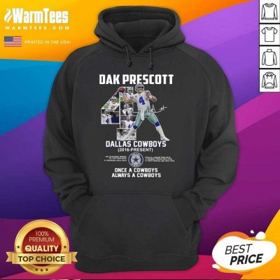 Good Dak Prescott 4 Dallas Cowboys Hoodie