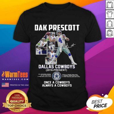 Good Dak Prescott 4 Dallas Cowboys Shirt